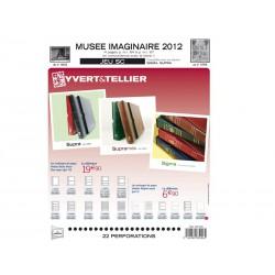 Jeu Musée Imaginaire SC 2012 YVERT ET TELLIER