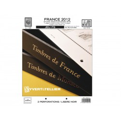 Jeu France FS 2012-2ème semestre YVERT ET TELLIER