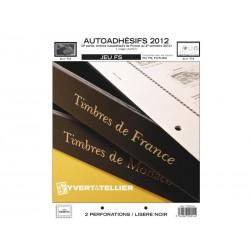 Jeu France FS 2012 2ème semestre-Auto adhésifs YVERT ET TELLIER