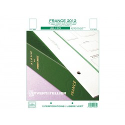 Jeu France FO 2012-2ème semestre YVERT ET TELLIER