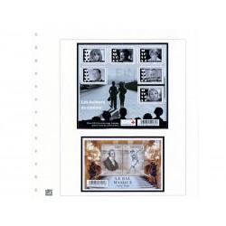 Feuilles France 2012 2ème semestre avec plaquettes couleur