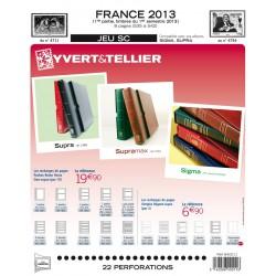 Jeu France 2013 -1er semestre SC YVERT ET TELLIER