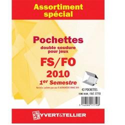 Assortiment de pochettes (double soudure)  2010-1er semestre