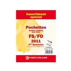 Assortiment de pochettes (double soudure) 2011-1er semestre