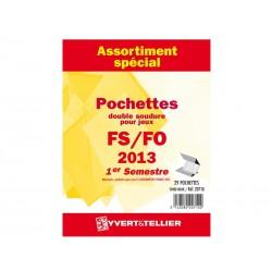 Assortiment de pochettes (double soudure) 2013-1er semestre