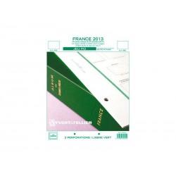Jeu France FO 2013-2ème semestre YVERT ET TELLIER