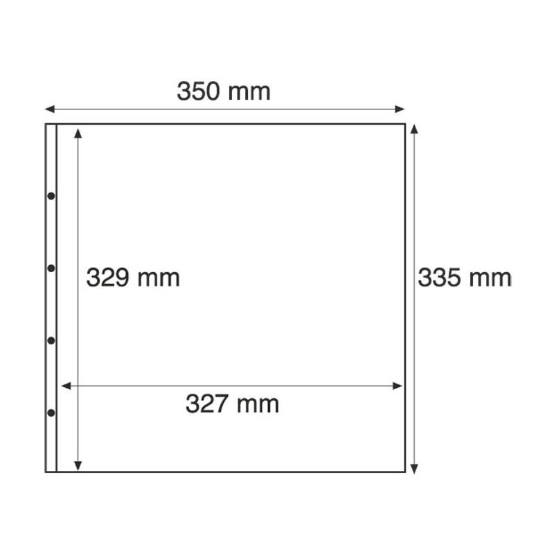 Pochettes plastiques de 1 compartiment transparent - Pochettes plastiques transparentes ...