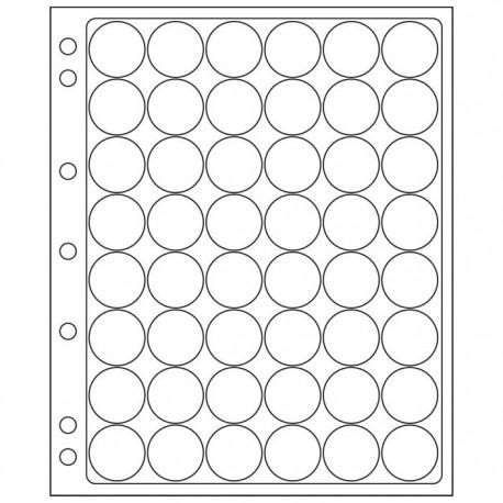 Pochettes plastique ENCAP transparentes pour 48