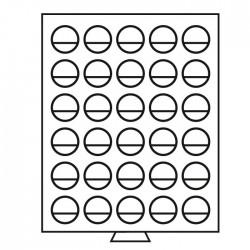 Petit Médaillier SMART pour 30 cases de 32,5 mm