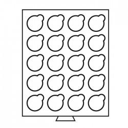 Petit Médaillier SMART pour 20 cases de 38 mm