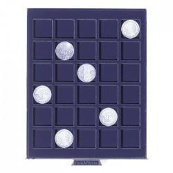 Petit Médaillier SMART pour 30 cases carrées de 30 mm (plaques de muselets)