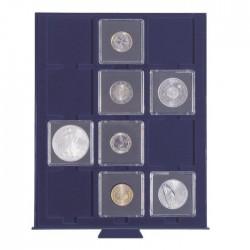 Petit Médaillier SMART pour 12 cases carrées de 50 mm (étuis cartonnés ou et Quadrum)