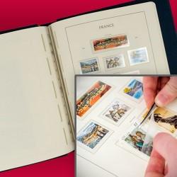 LEUCHTTURM SF-Feuilles préimprimées France timbres autocollants 2013 LEUCHTTURM
