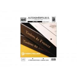 Jeu France FS 2013 2ème semestre-Auto adhésifs YVERT ET TELLIER
