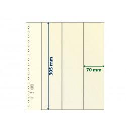 Feuilles neutres T à 3 bandes