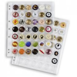 Recharges Encap, pour 42 capsules de champagne - Transparent