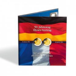 Album 2 Euros commémoratives PRESSO, 50 ans du Traité de l'Elysée