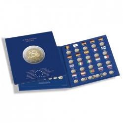 Album 2 Euros commémoratives PRESSO, 10 ans de monnaies en euros