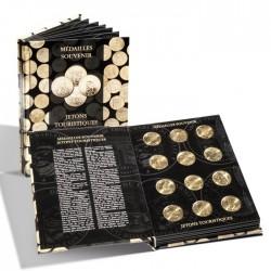 Livre album pour 60 médailles souvenir