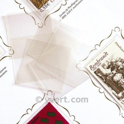 Pochettes Simple Soudure - 22x26 transparent