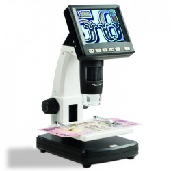 Microscope digital LCD Zoom x 10 - 500