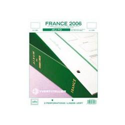 Jeu FO France 2006 YVERT ET TELLIER