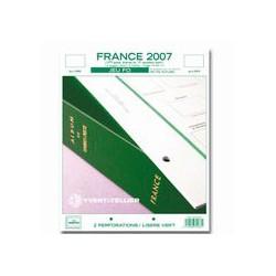 Jeu FO France 2007-1er semestre YVERT ET TELLIER