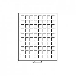 Médailler 88 cases circulaires de 21,5 mm