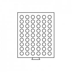 Médailler 80 cases circulaires de 23,5 mm