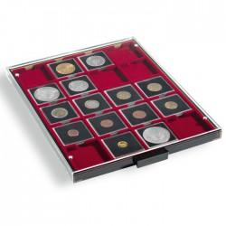 Médailler pour 5 jeux complets de 1 centime à 2 € sous capsules