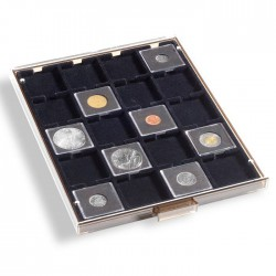 Médailler 20 capsules carrées Qadrum