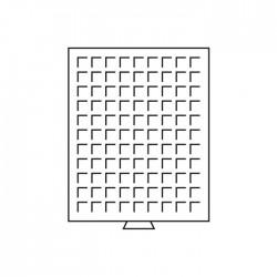 Médailler 99 cases circulaires de 18.5 mm