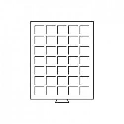 Médailler 48 cases carrées de 30 mm