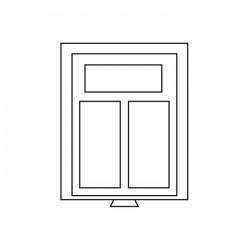 Médailler 12 cases carrées de 64 x 64 mm