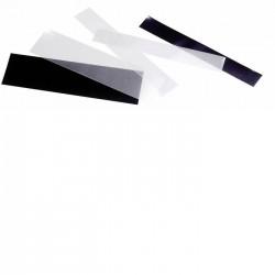 Bandes double soudure - 210x21 noires