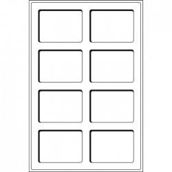 Plateaux Format L pour 6 séries d'euros