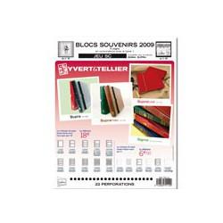 Jeu SC Blocs souvenirs SC 2009 YVERT ET TELLIER
