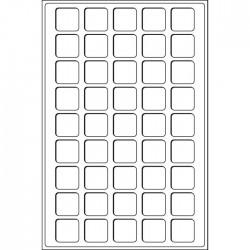 Plateaux Format L pour 77 cases de 22 mm