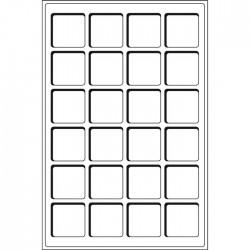 Plateaux Format L pour 12 cases de 66 mm