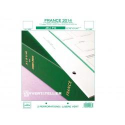 Jeu France FO 2014-1er semestre YVERT ET TELLIER