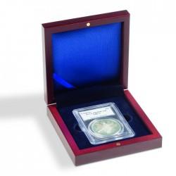 Ecrin numismatique 1 case carrée pour Slab