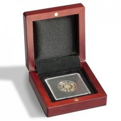 Ecrin numismatique 1 case carrée pour 1 quadrum ou étui cartonné