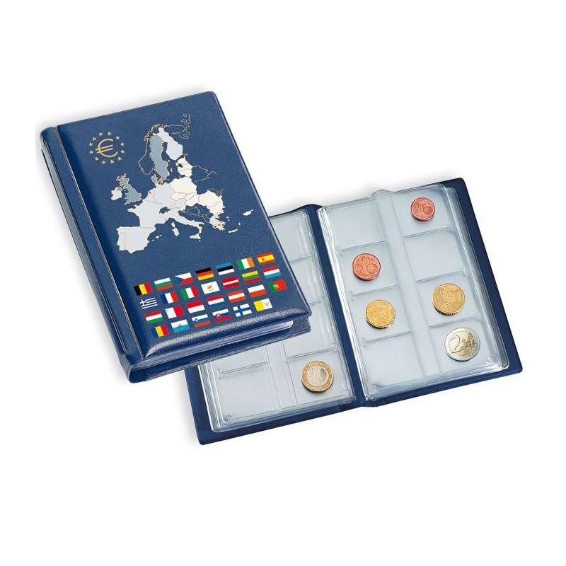 album de poche pour s ries d 39 euros avec 12 feuilles. Black Bedroom Furniture Sets. Home Design Ideas