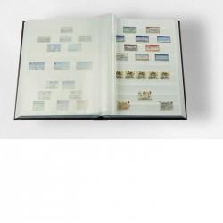 Classeur A4, 32 pages blanches, couverture non ouatinée simili cuir