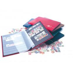 """Classeur pour timbres """"petit modèle"""" - 16 pages noires"""