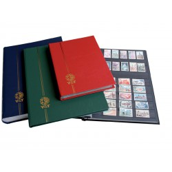 """Classeur pour timbres """"grand modèle"""" - 16 pages blanches"""