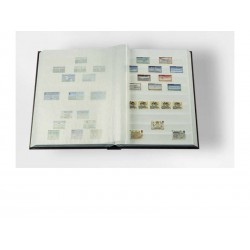 """Classeur pour timbres """"petit modèle"""" - 16 pages blanches"""