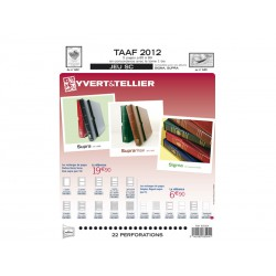 TAAF SC : 2012 (jeux avec pochettes)