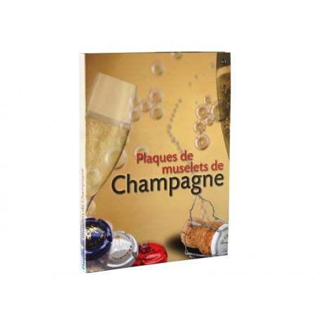 Album 100 plaques de muselet de Champagne