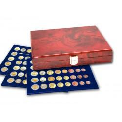 """Coffret """"Premium"""" pour 15 série d'Euros (1 cent à 2 €)"""